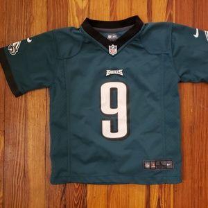 Nick Foles Philadelphia Eagles Kids Jersey Large 7